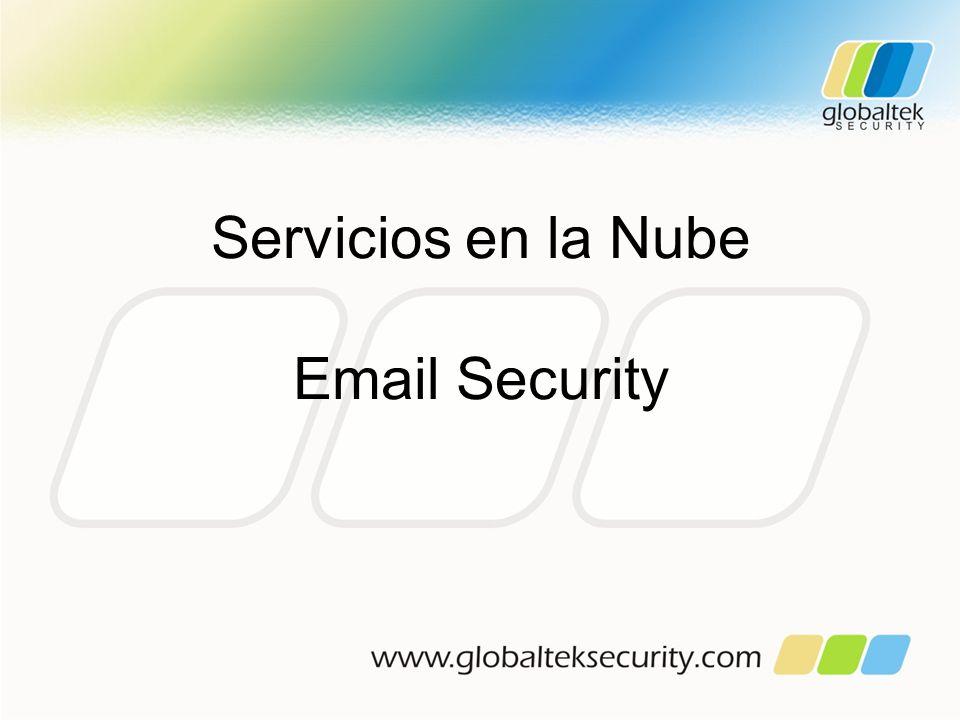 Servicios en la Nube Email Security