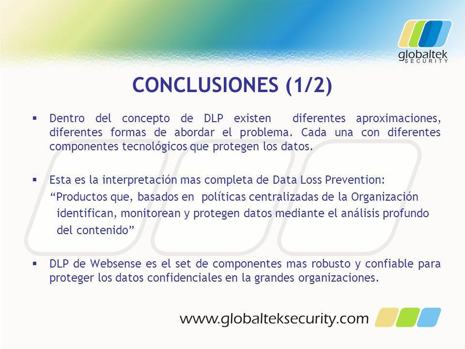 CONCLUSIONES (1/2)