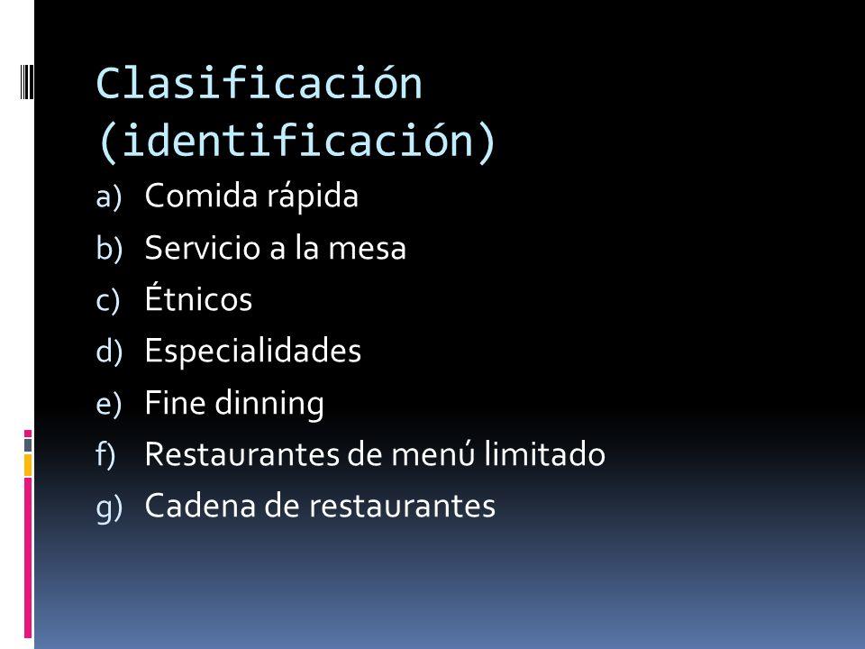 Clasificación (identificación)