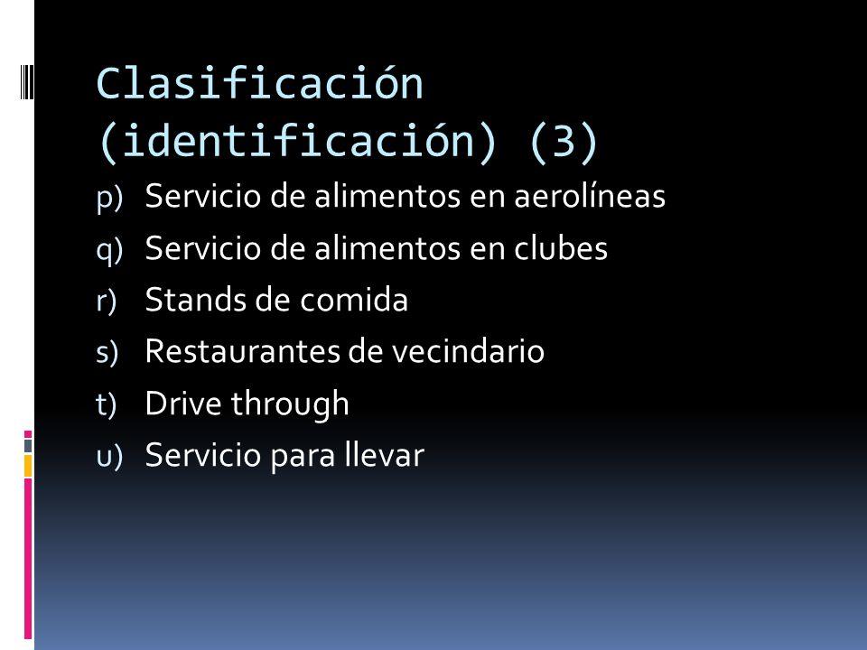 Clasificación (identificación) (3)