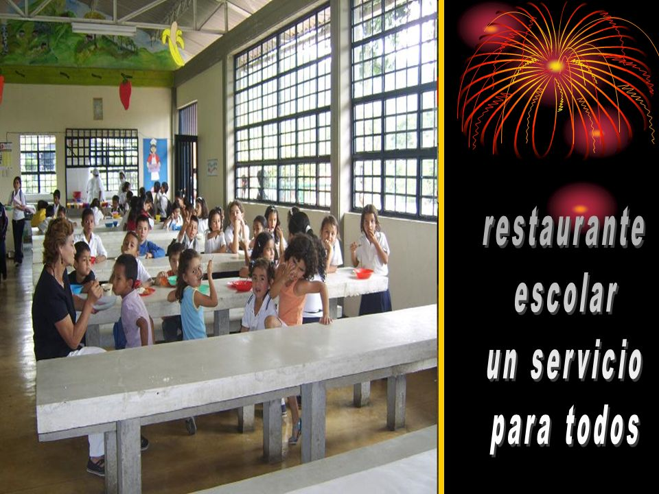 restaurante escolar un servicio para todos