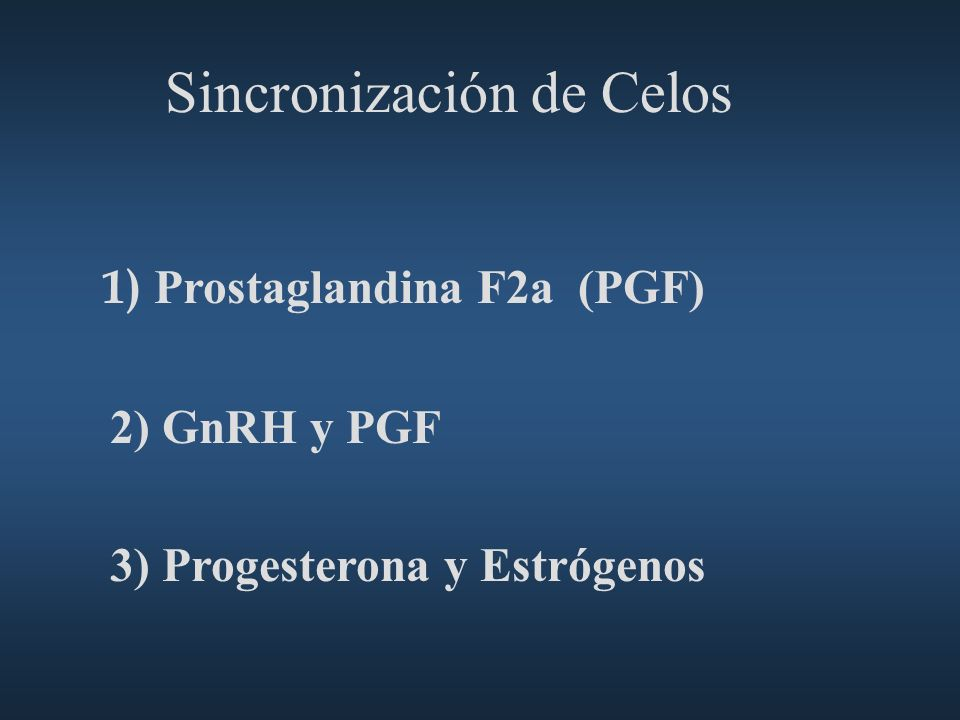 Sincronización de Celos
