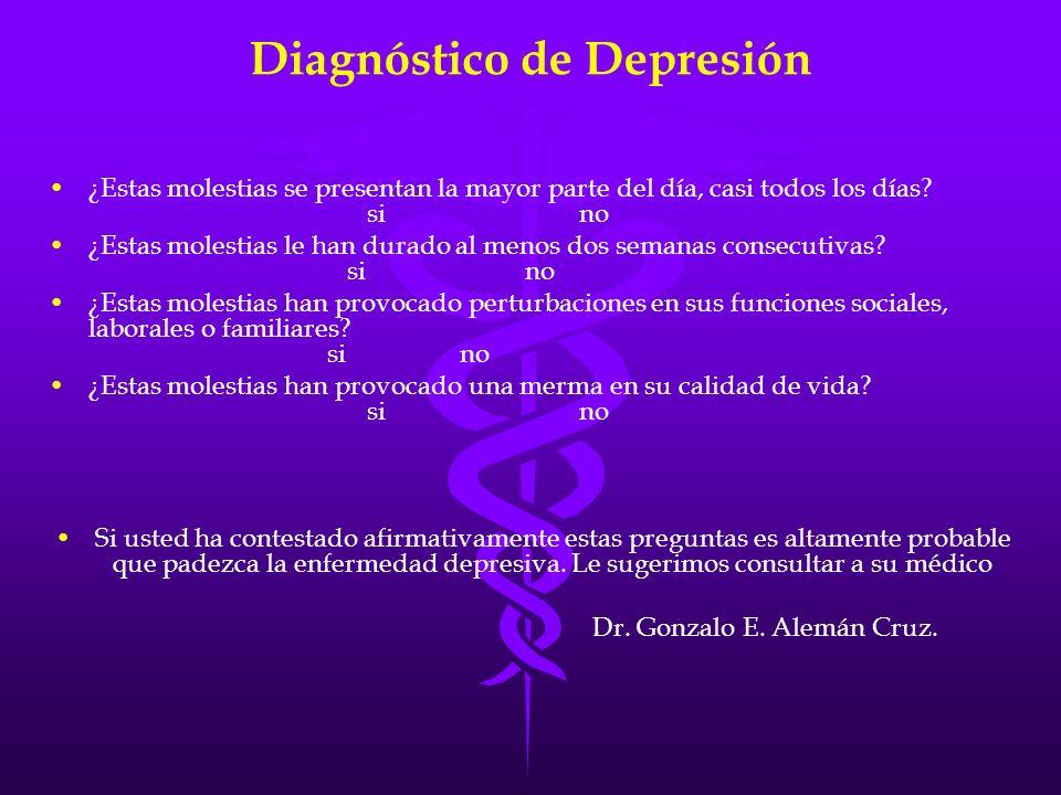 Diagnóstico de Depresión