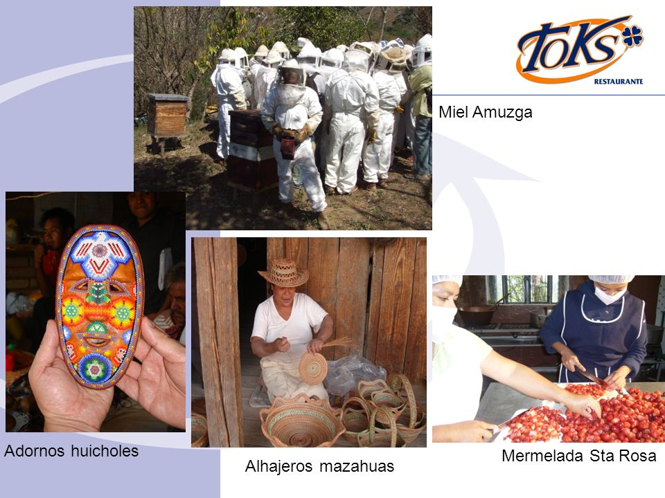 Miel Amuzga Adornos huicholes Mermelada Sta Rosa Alhajeros mazahuas 4