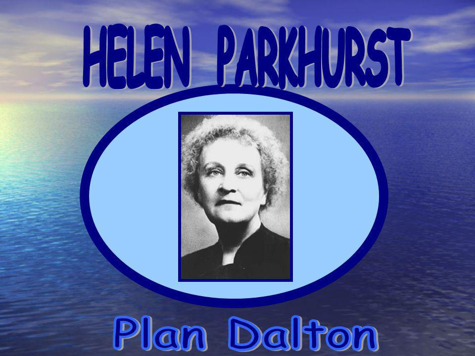 HELEN PARKHURST Plan Dalton