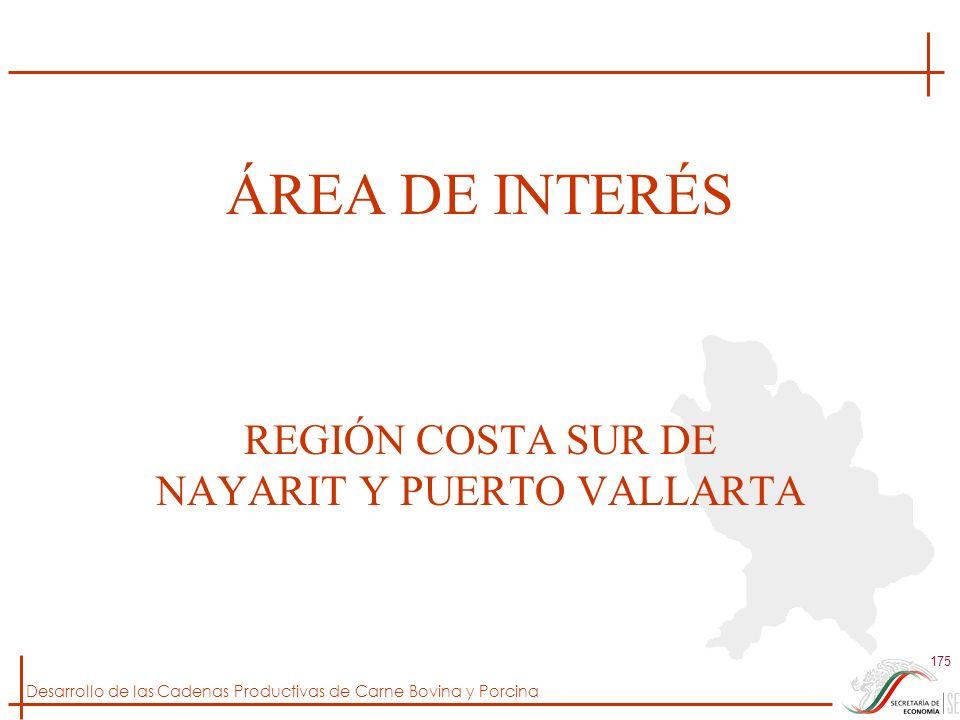 REGIÓN COSTA SUR DE NAYARIT Y PUERTO VALLARTA