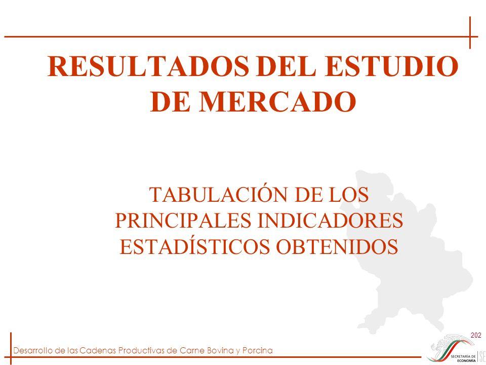 RESULTADOS DEL ESTUDIO DE MERCADO