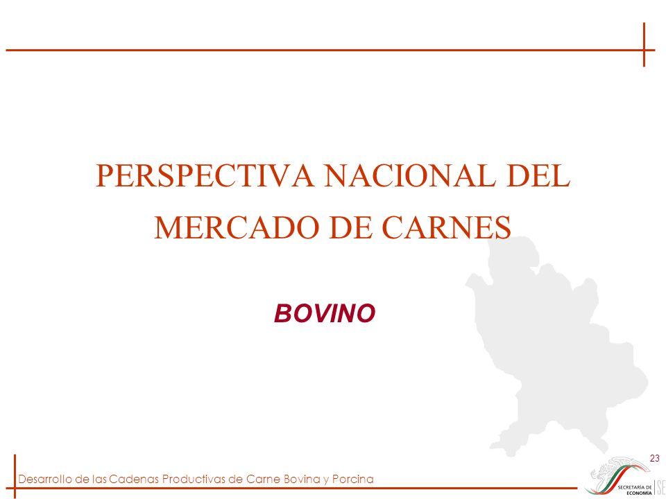 PERSPECTIVA NACIONAL DEL MERCADO DE CARNES