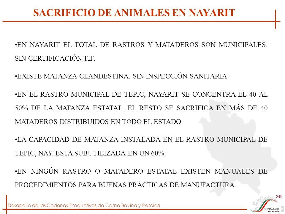 SACRIFICIO DE ANIMALES EN NAYARIT