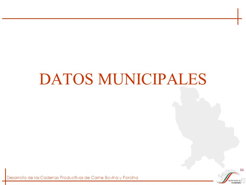 DATOS MUNICIPALES