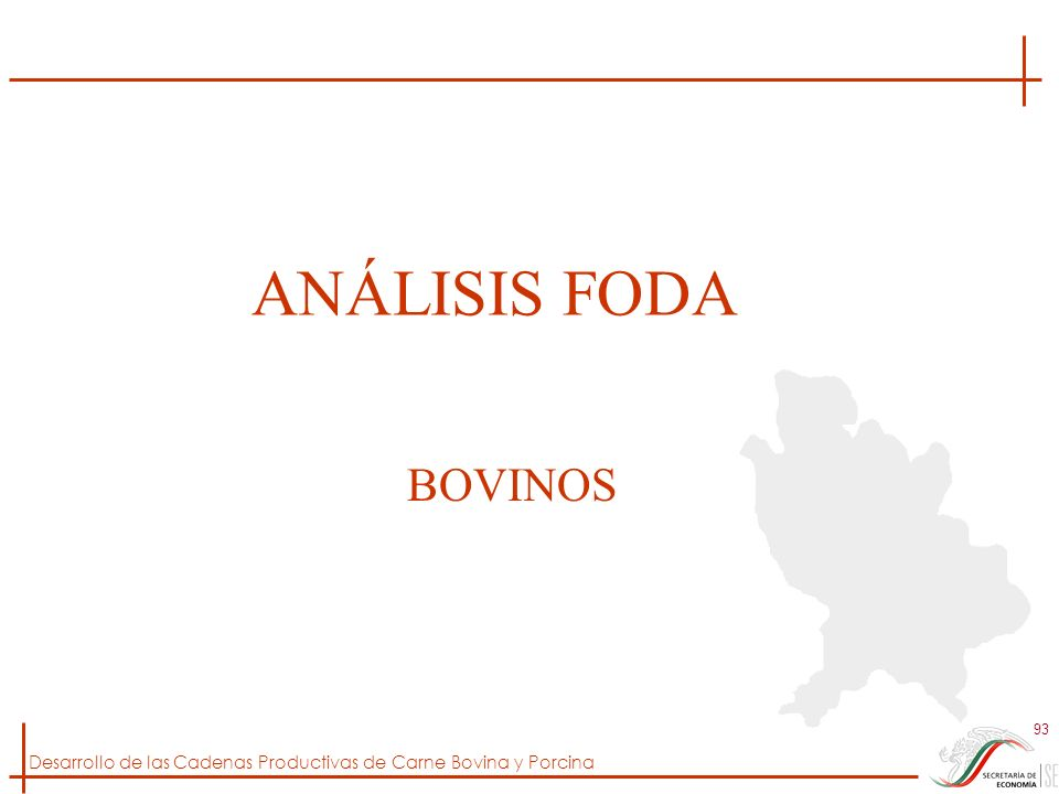 ANÁLISIS FODA BOVINOS