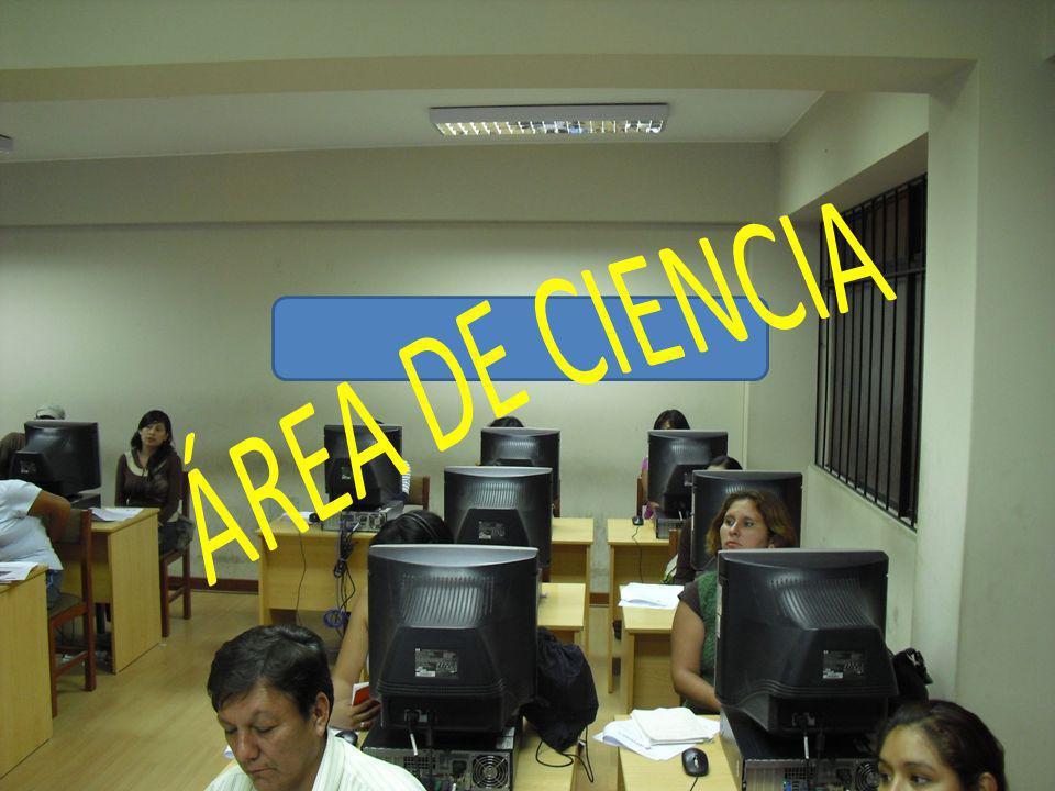 TTT ÁREA DE CIENCIA