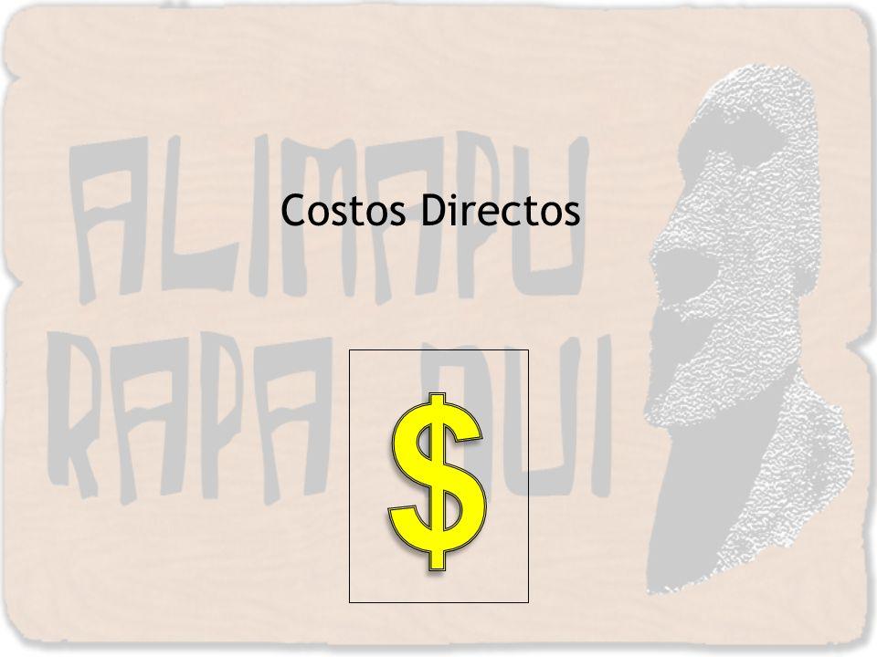 Costos Directos $