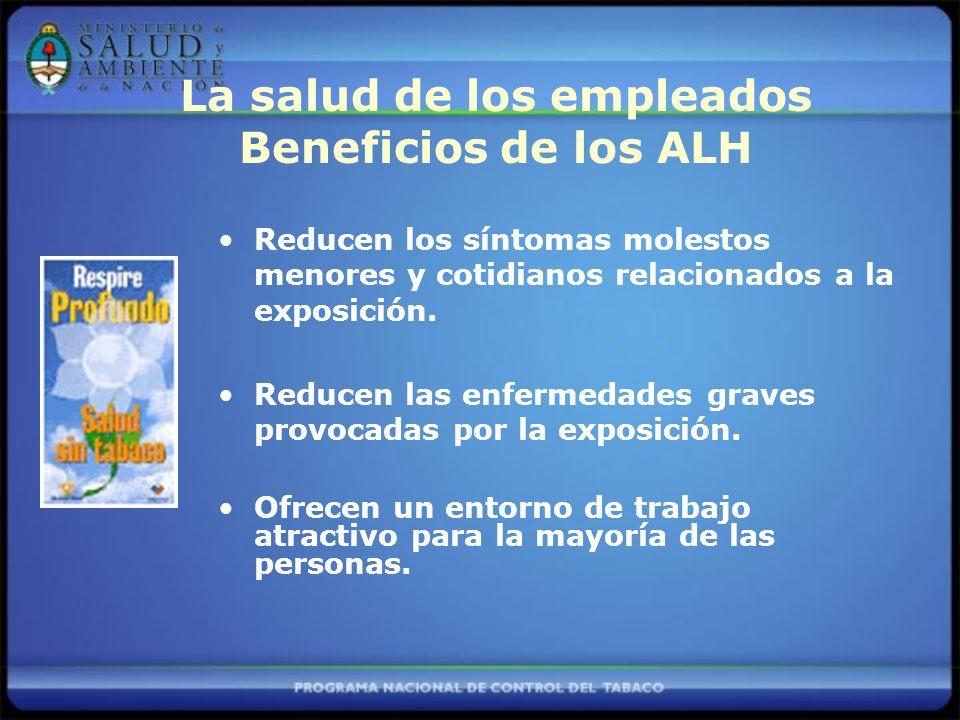 La salud de los empleados Beneficios de los ALH