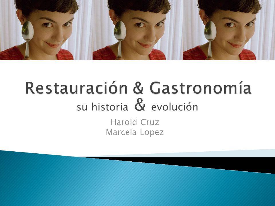 Restauración & Gastronomía