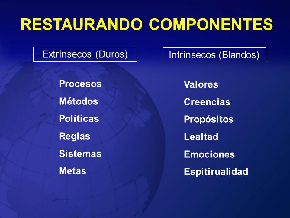 RESTAURANDO COMPONENTES