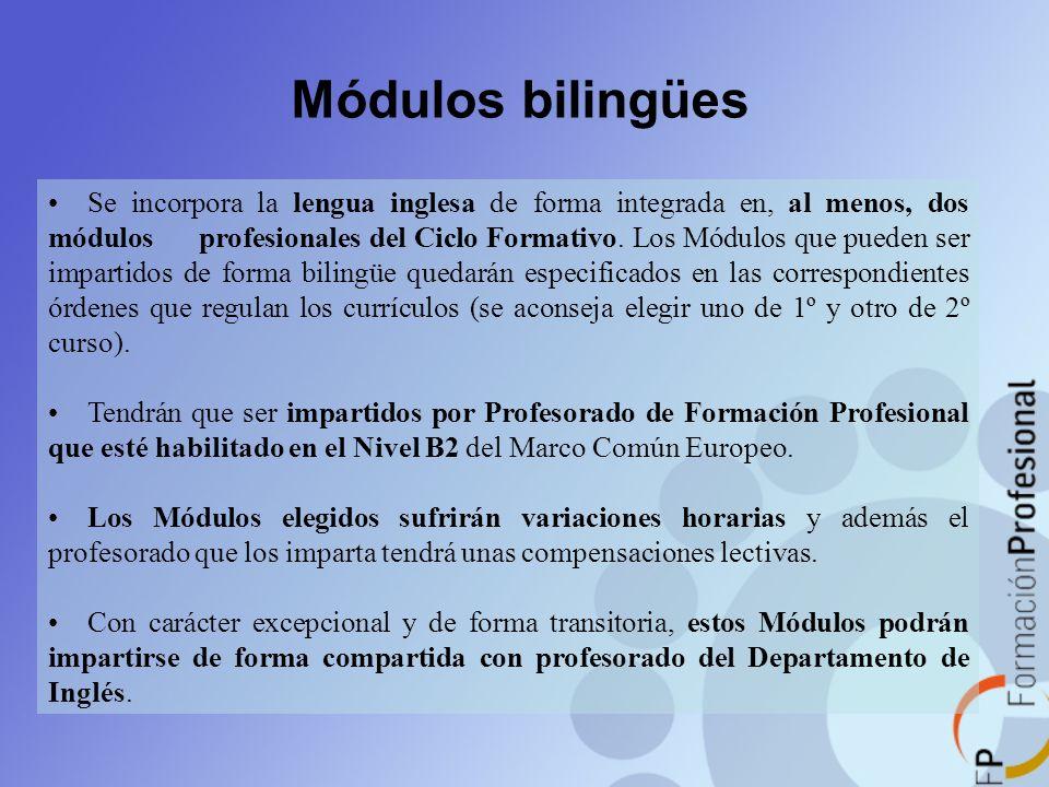 Módulos bilingües