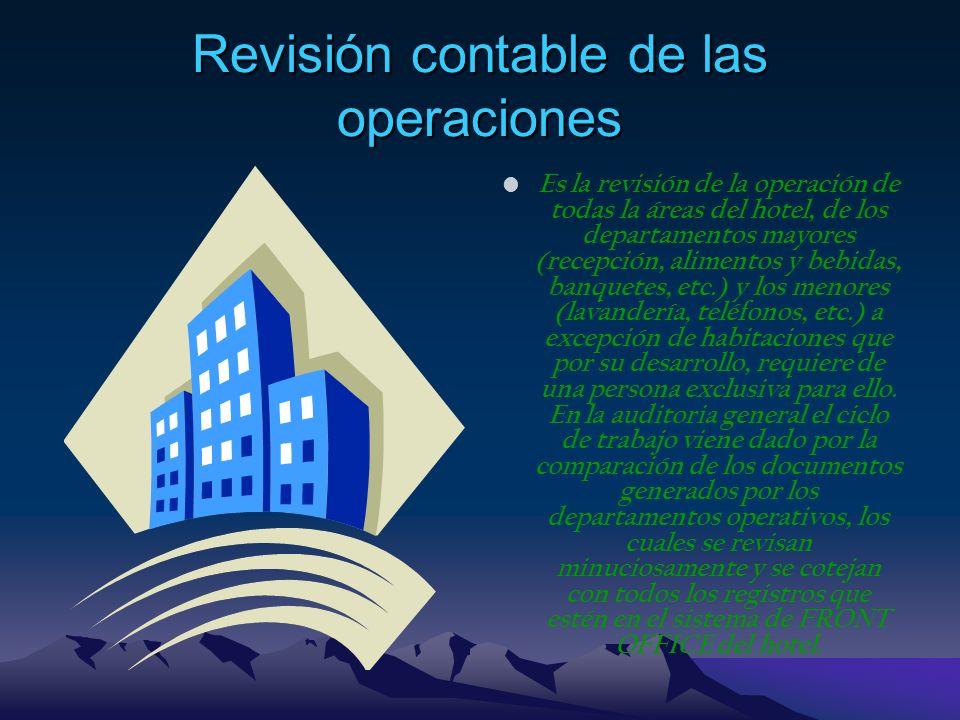 Revisión contable de las operaciones