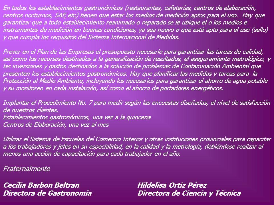 Cecília Barbon Beltran Hildelisa Ortiz Pérez