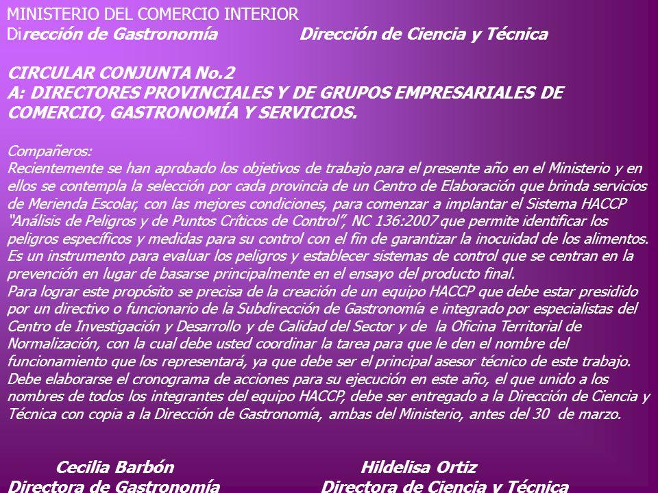 Cecilia Barbón Hildelisa Ortiz