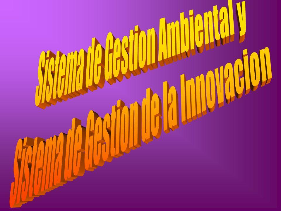 Sistema de Gestion Ambiental y Sistema de Gestion de la Innovacion