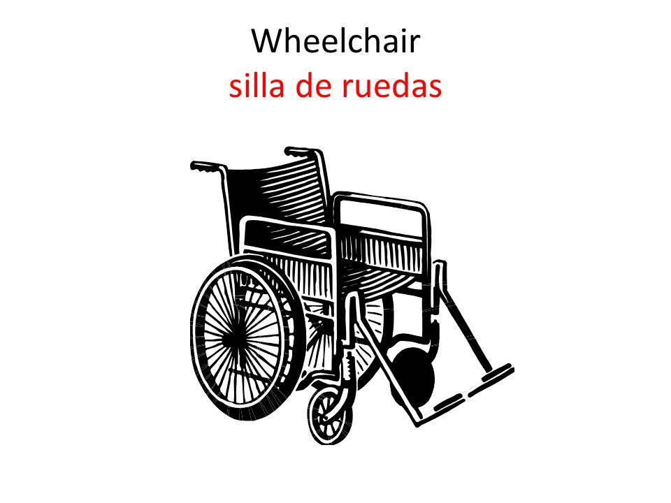 Wheelchair silla de ruedas