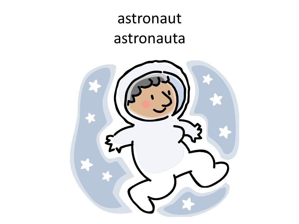 astronaut astronauta