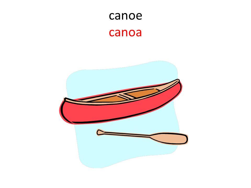 canoe canoa