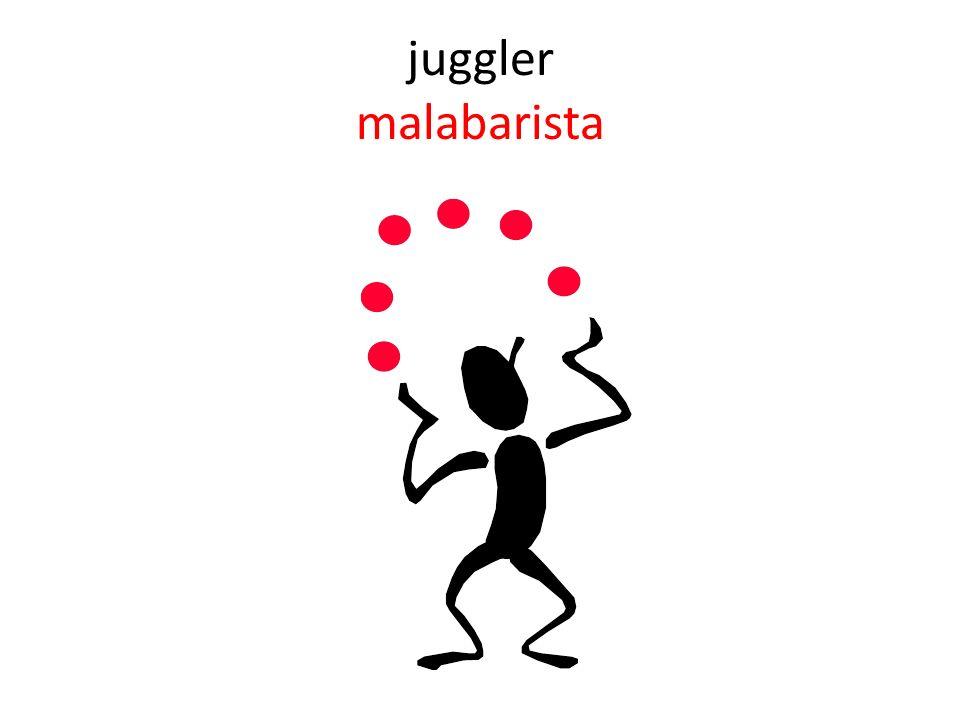 juggler malabarista