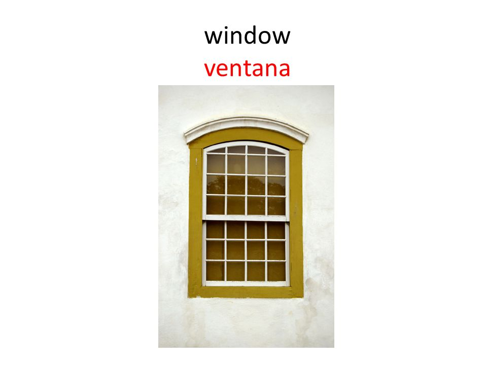 window ventana