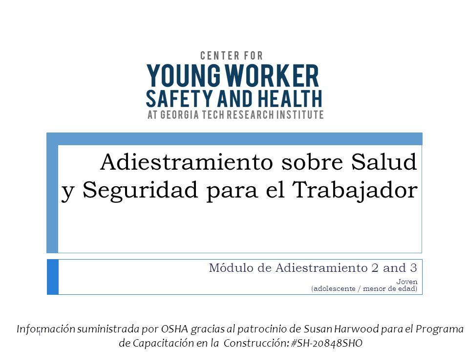 Adiestramiento sobre Salud y Seguridad para el Trabajador