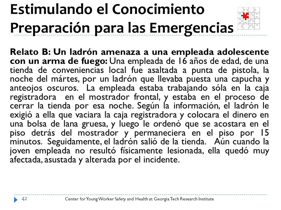 Estimulando el Conocimiento: Preparación para las Emergencias