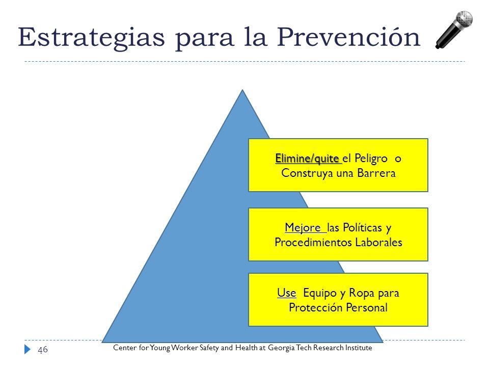 Estrategias para la Prevención