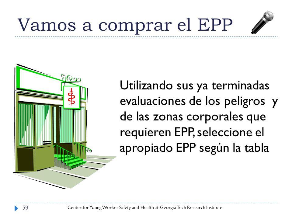 Vamos a comprar el EPP