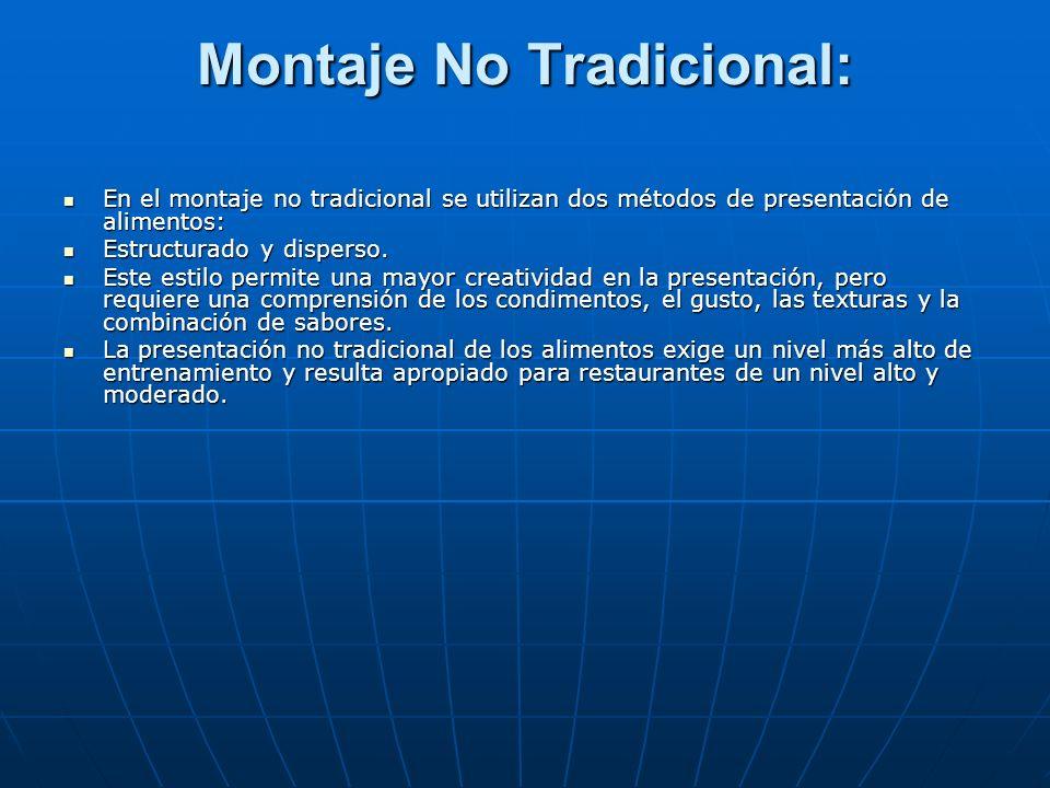 Montaje No Tradicional: