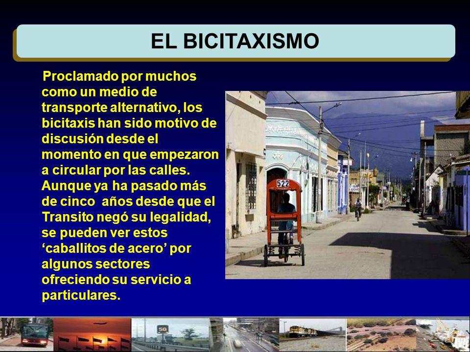 EL BICITAXISMO