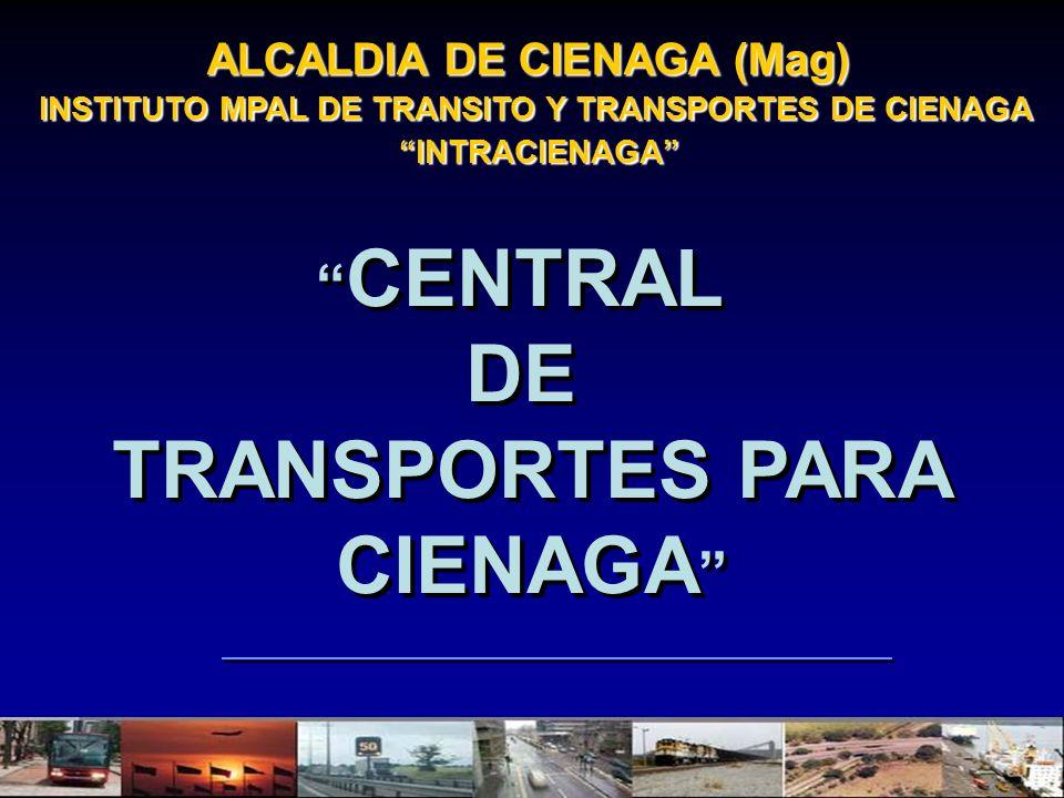 DE TRANSPORTES PARA CIENAGA