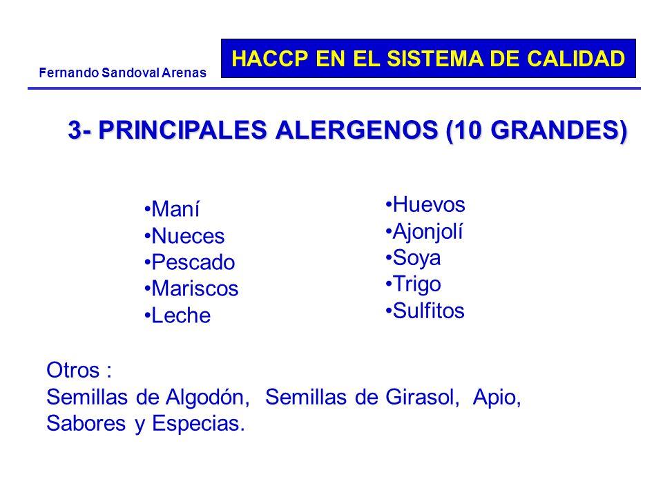 3- PRINCIPALES ALERGENOS (10 GRANDES)