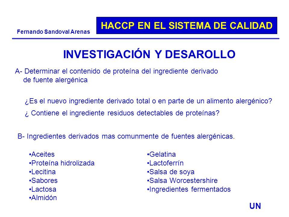 INVESTIGACIÓN Y DESAROLLO