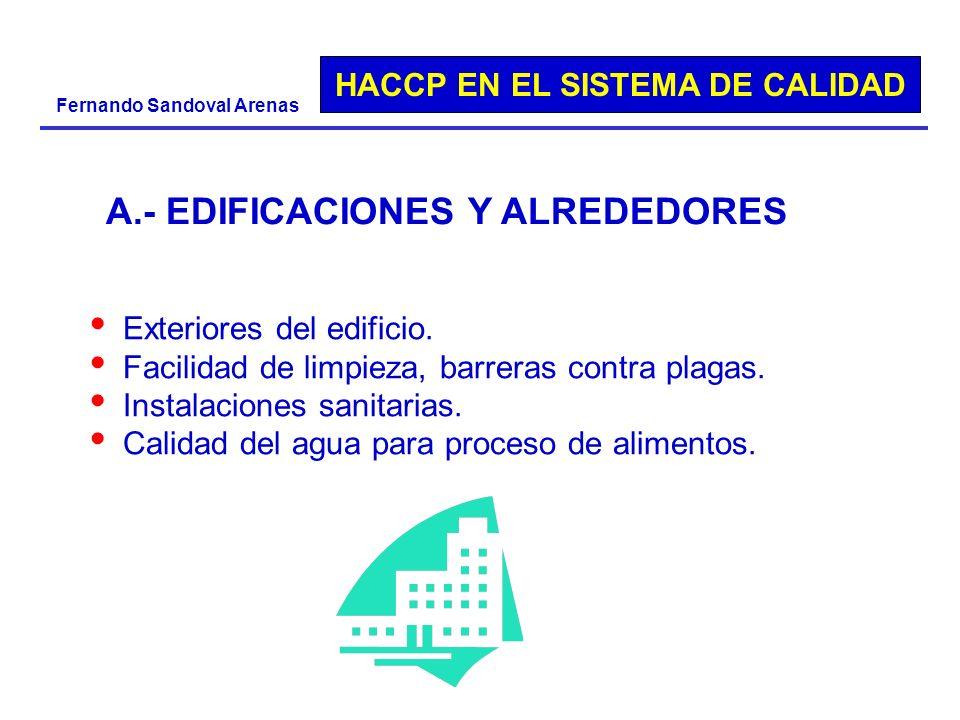 A.- EDIFICACIONES Y ALREDEDORES