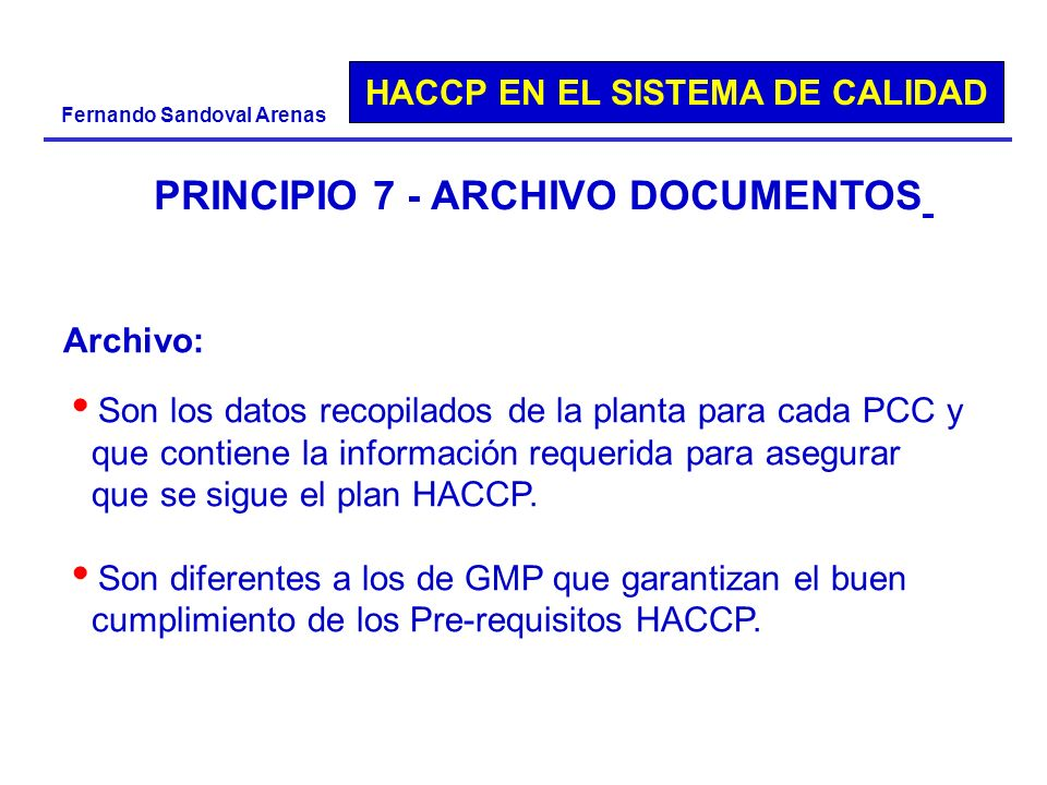 PRINCIPIO 7 - ARCHIVO DOCUMENTOS