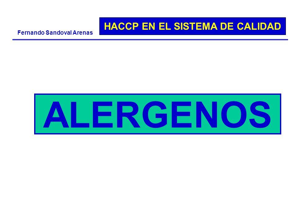 ALERGENOS ALERGENOS