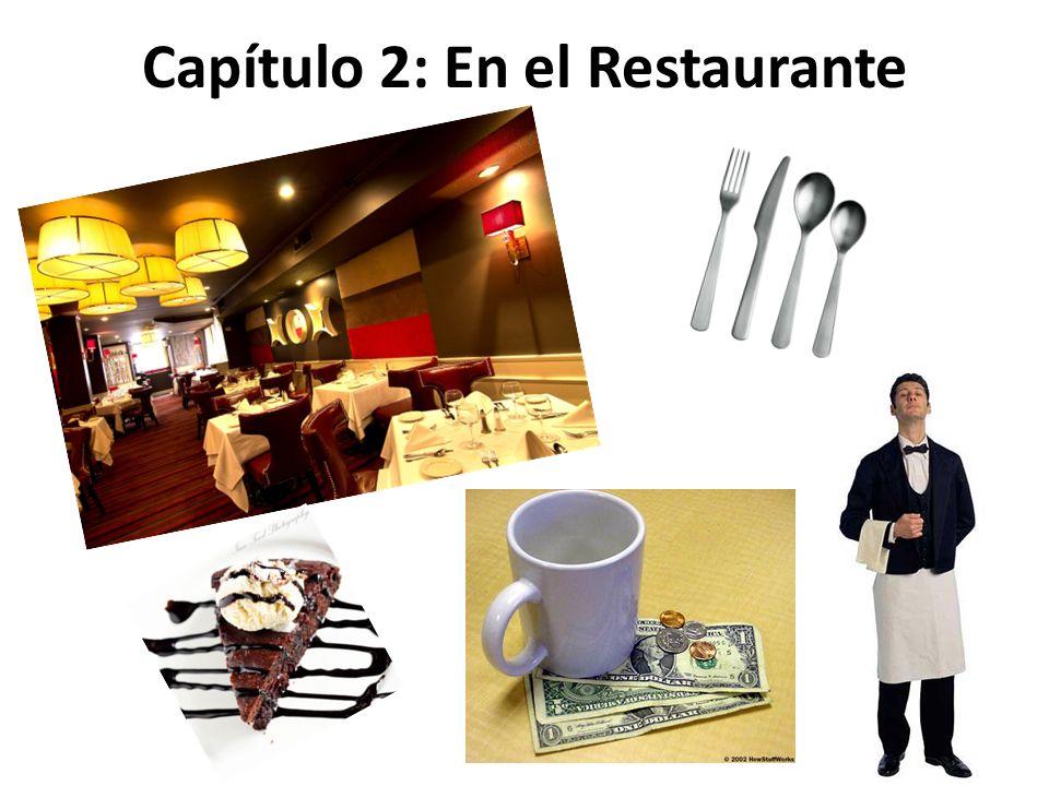 Capítulo 2: En el Restaurante