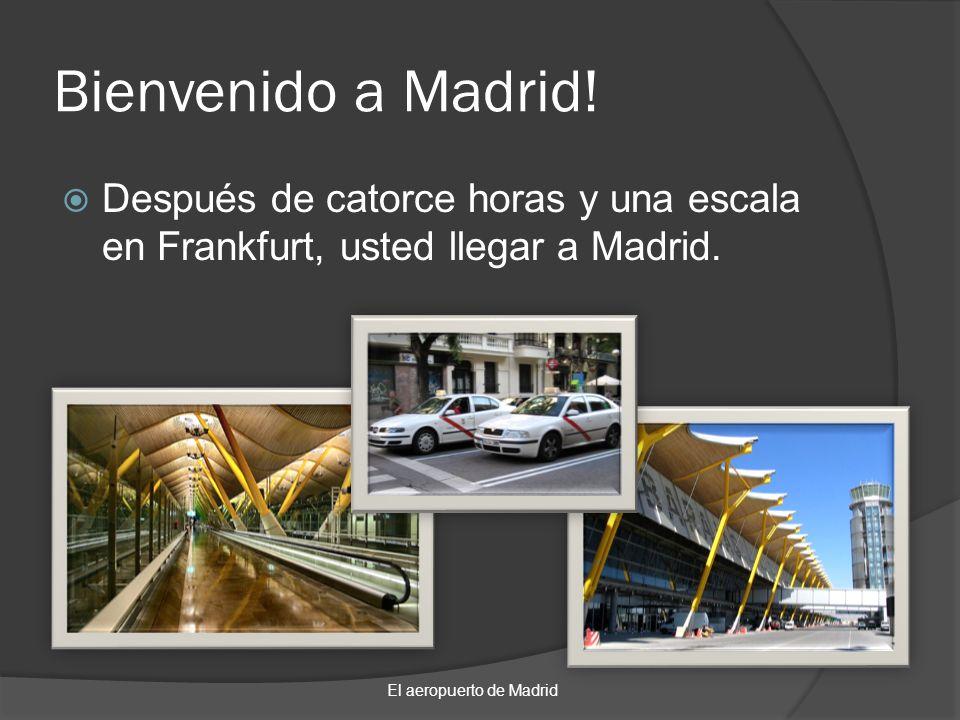 El aeropuerto de Madrid