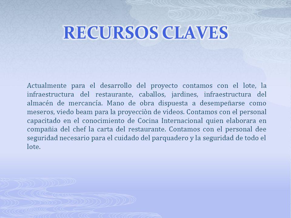 RECURSOS CLAVES