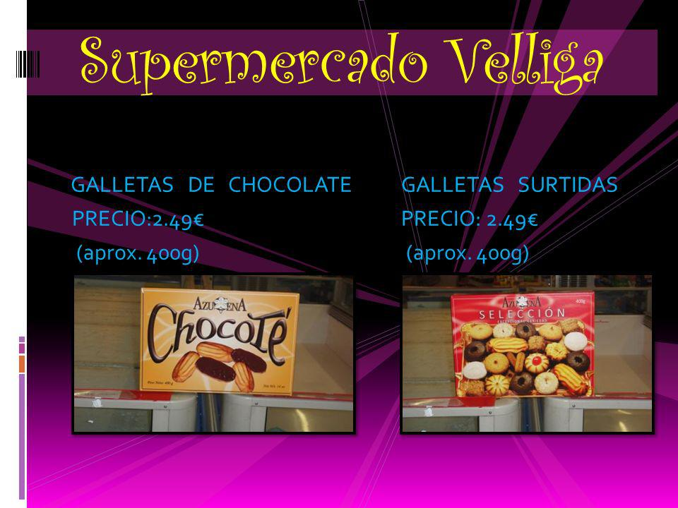 Supermercado Velliga GALLETAS DE CHOCOLATE GALLETAS SURTIDAS