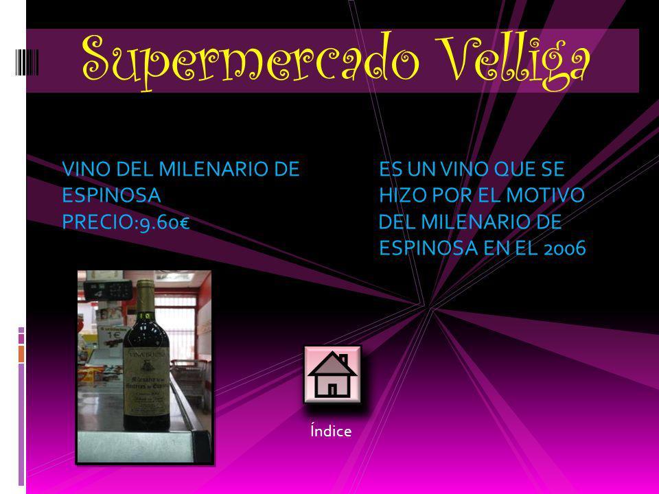 Supermercado Velliga VINO DEL MILENARIO DE ES UN VINO QUE SE