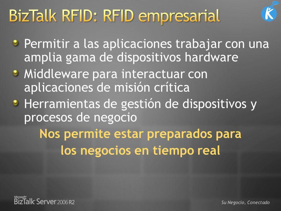 BizTalk RFID: RFID empresarial