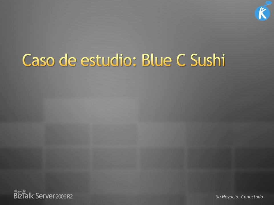 Caso de estudio: Blue C Sushi