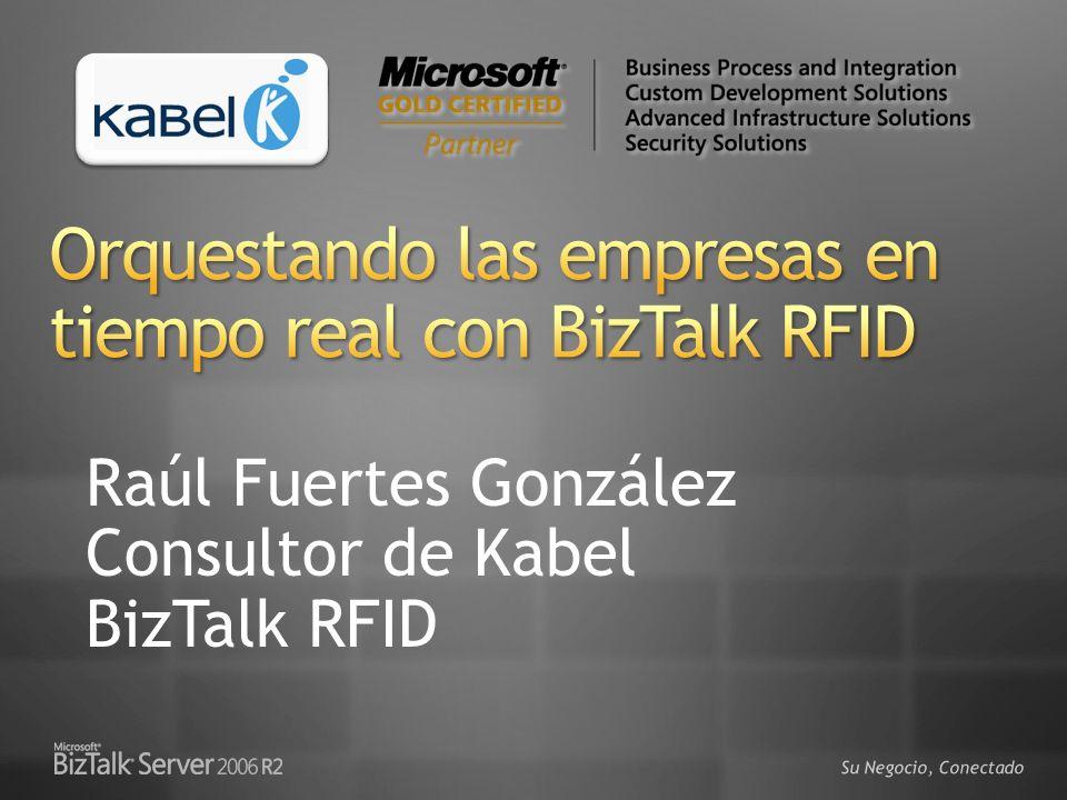 Orquestando las empresas en tiempo real con BizTalk RFID